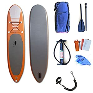 Kanqingqing-Sport Stand Up Paddel Gonfiabile 31.5 Pollici Wide Lago Gonfiabile SUP Stand Up Paddle Water Board Yoga SUP… 2 spesavip