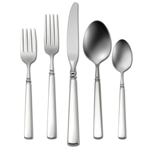 oneida-easton-26-piece-stainless-flatware-set-service-for-4-with-bamboo-drawer-organizer