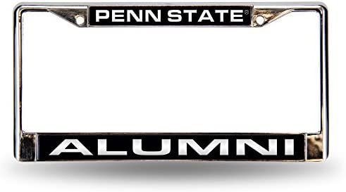 Rico Industries NCAA Penn State Nittany Lions Standard Chrome License Plate Frame