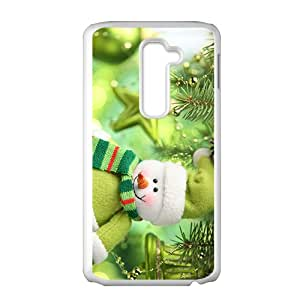Lovely Snowman Hight Quality Plastic Case for LG G2