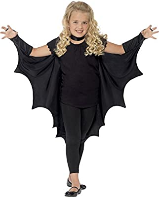 Child Black Bat Wings from Smiffys