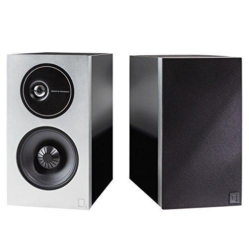 Definitive Technology Demand Series D9 High-Performance Bookshelf Speakers – Pair (Black)