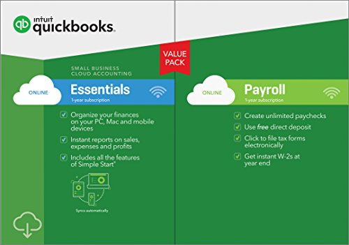 QuickBooks Essentials Payroll Subscription Download product image