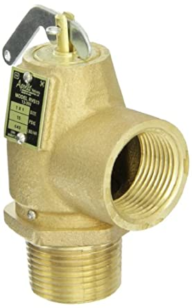 Safety Pressure Relief Valve Low Pressure Steam Heating Boilers Valve 5 PSI 3//4