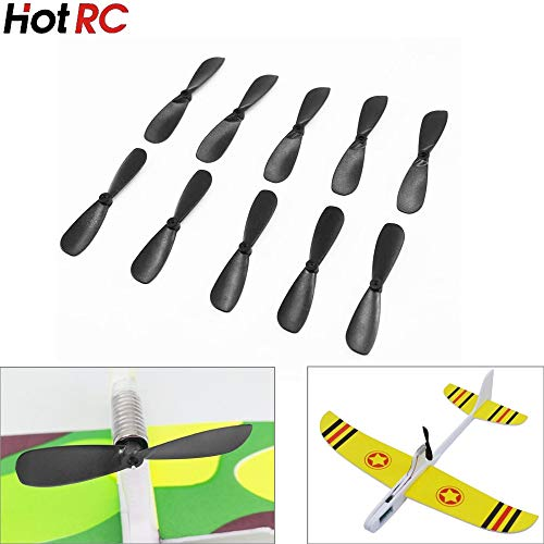 Diecasts & Toy Vehicles - 10pcs/lot 46mm Propellers for 614/715 Motor for Hand Throwing Capacitance Airaft Toys - by TINIX - 1 PCs from TINIX