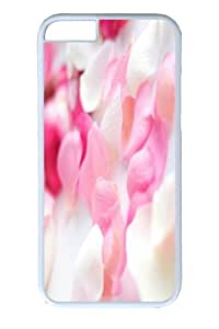 iphone 6 Case and Cover -Pink Orchid Flowers Custom PC Hard Case Cover for iphone 6 4.7 inch White