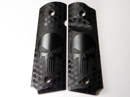 "1911 Pistol Grips .25"" Thickness - Honeycomb Punisher"