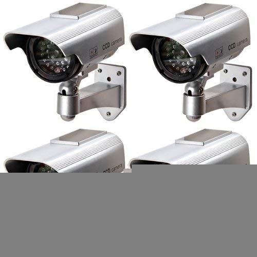 Value-5-Star - COTS-4 X CCTV TELECAMERA FINTA DUMMY OUTDOOR DA SORVEGLIANZA PROFESSIONALE VIDEO CAMERA WIRELESS,LED NEGOZIO OUTDOOR/INDOOR by Value-5-Star (Image #5)