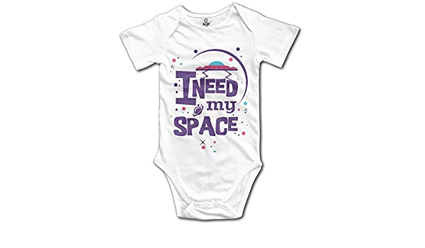 54bcfee15 Amazon.com: I Need My Space Cute Outer Infant Boys Girls Baby Onesies  Outfits Organic: Clothing