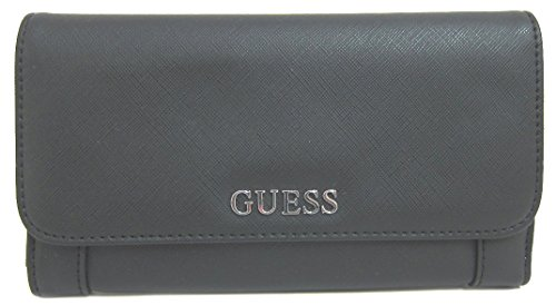 GUESS Women's Delaney Multi Clutch Black - Brand 14 Guess The