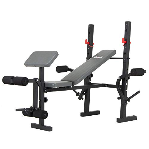 - Body Champ Standard Weight Bench with Butterfly and Preacher Curl, Incline/Flat Adjustable BCB580