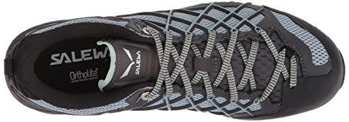 Chaussures Randonnée Magnet Femme Basses de 0734 Wildfire Blue Fog Gris Salewa WS UnOqTTE