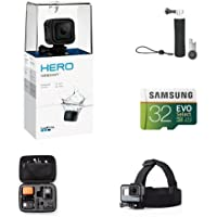 GoPro HERO Session Holiday Promo Bundle w/ Head Strap and Carrying Case
