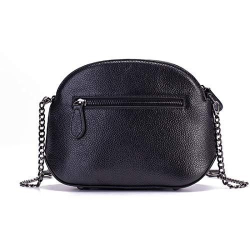 tracolla per Borse pelle in Borse per da Colore donna borse Designer a Giallo Verde Vintage YUKILO mano viaggio a Leather nwg87q8f