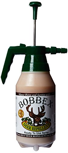 Bobbex B550170 Ready to Use Deer Repellent with E-Z Pump Sprayer, 48-Ounce