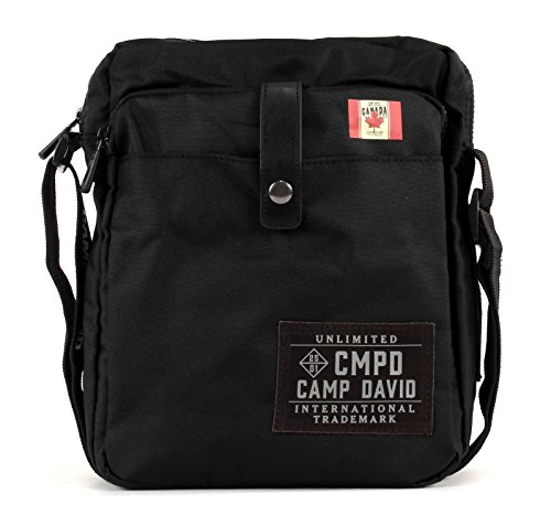 CAMP DAVID Clifton Crossbag Black