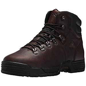 "Rocky Men's Mobilite 6"" Waterproof Non-Steel Boot,Dark Brown,10.5 W US"