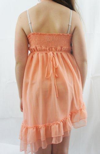 Lipsy - Robe - Dos nu - Femme Orange Corail