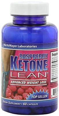 MaritzMayer Raspberry Ketone Lean Advanced Weight Loss Supplement 60 Count 2-Pack