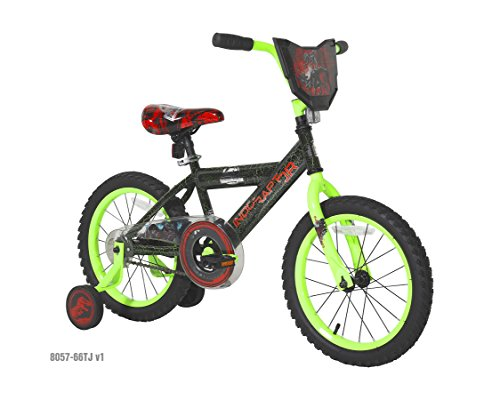 Dynacraft Jurassic World Bike, 16'', Green ()