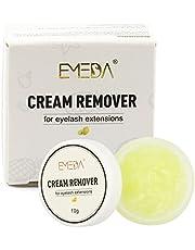 EMEDA wimperverwijderaar Crème 10g, Professionele wimperextensions Lijmverwijderaar Crème Type, zachte en snelle lijmverwijdering voor wimperextensions, Fast Dissolution Lash Glue Cream Remover