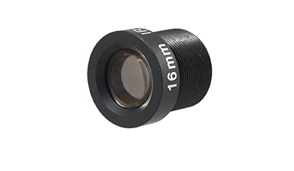 Amazon.com: eDealMax circuito cerrado de televisión de cámara de seguridad 1/3 F2.0 Enfoque 16 mm Longitud 21 ángulo fijo lente IR Junta: Electronics