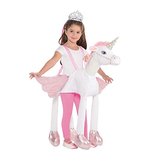 Suit Yourself Unicorn Ride-On Costume for Children, Size Medium, Includes a Detailed Rider Suit and 4 Attached Legs -