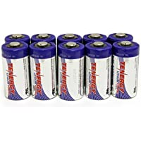 Tenergy Propel CR123A Lithium Batteries with PTC Protected - 10 pcs