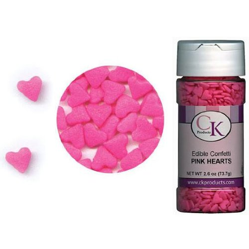 Confetti Hearts Pink 2.8 oz. CONHEP
