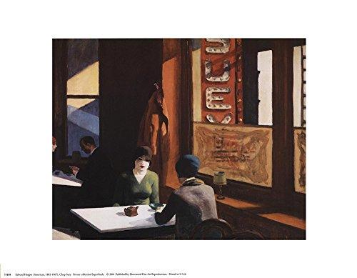 Chop Suey by Edward Hopper Art Print, 14 x 11 inches