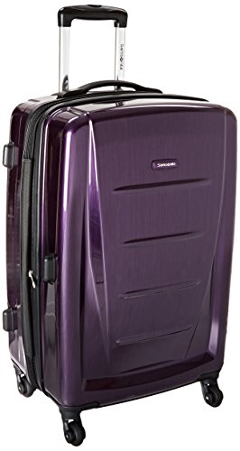 Samsonite Checked-Medium, Purple
