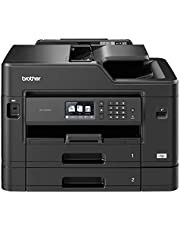 Brother Wireless, Versatile Paper Handling Colour Inkjet Multi-Function Printer MFC-J5730DW, Black, 9.3 cm (MFC-J5730DW)
