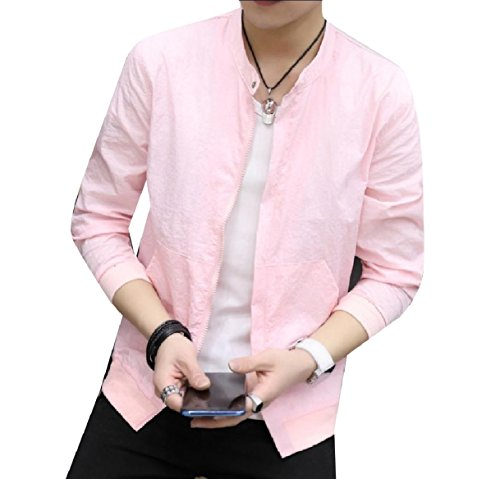 Jacket Pure Vogue Zip Men Juniors Full Colour Pink Howme Fitness Coat 876RxEqEI