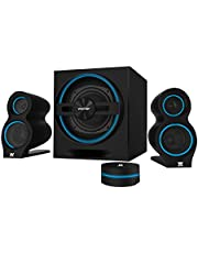 Woxter Big Bass 500 - Altavoces Multimedia 2.1, Bluetooth 4.0,150 W, Color Negro