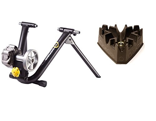 CycleOps Fluid 2 Trainer (Fluid2 Trainer And Climbing Block, One Size) (Best Fluid Bike Trainer)