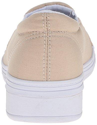 Gresshopper Kvinners Jensen Stretch Twill Slip-on Sneaker Stein