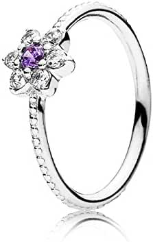 FORGET ME NOT, PURPLE RING-6 SM/MED