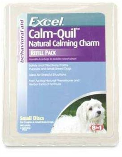 Excel Calm Quil Natural Calming Charm Refill for Large Dogs, Clam Shell