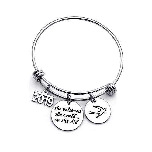 2019-She-Believed-She-Could-So-She-Did-Adjustable-Bangle-Bracelet-Family-Friend-Gift-for-Women-Girl