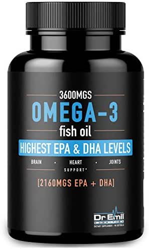 Vitamins & Supplements: Dr. Emil Omega 3-Fish Oil