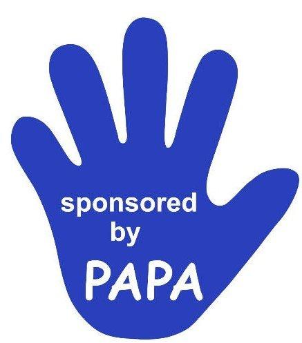 Michel Toys Mano Azul Limpiaparabrisas Trasero Sponsored by Papa