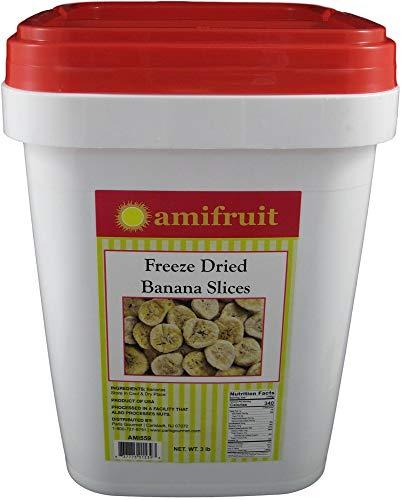 Freeze Dried Banana Slices 3 Lbs