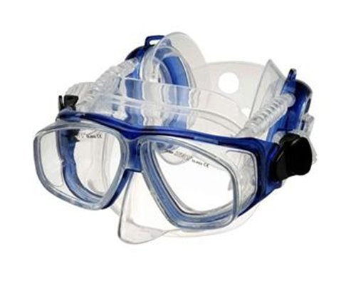 IST ME67 Four Window Pro Ear Mask (Cobalt Blue)