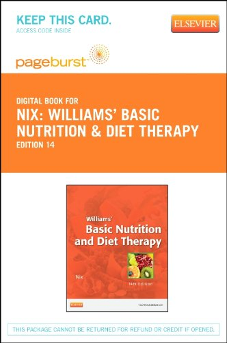 Williams' Basic Nutrition & Diet Therapy - Elsevier eBook on VitalSource (Retail Access Card), 14e