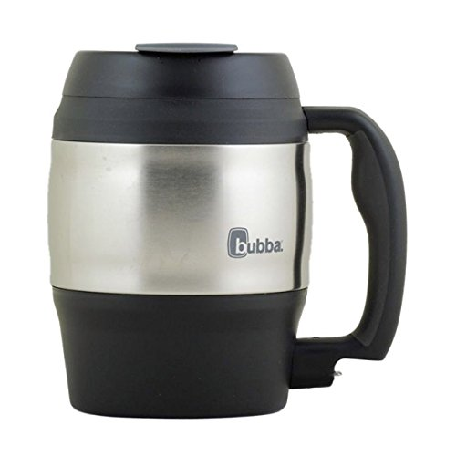 Sqwincher 300305SQ Sqwincher Bubba Keg Mug, Black - 52 oz -