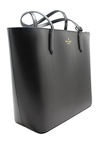 Kate Spade Lucia Bell Street Top Zip Shoulder Tote Bag Black by Kate Spade New York (Image #1)