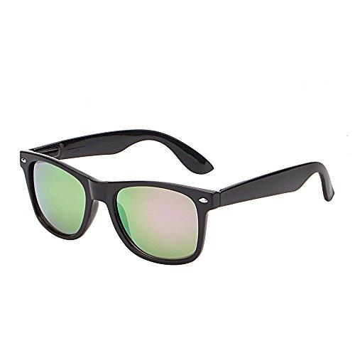 JM Retro Classic Original Mirrored Lenses Spring Hinge Wayfarer Sunglasses - Cheap Sunglasses Motorcycle
