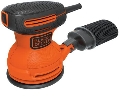 BLACK DECKER Random Orbit Sander, 5-Inch BDERO100