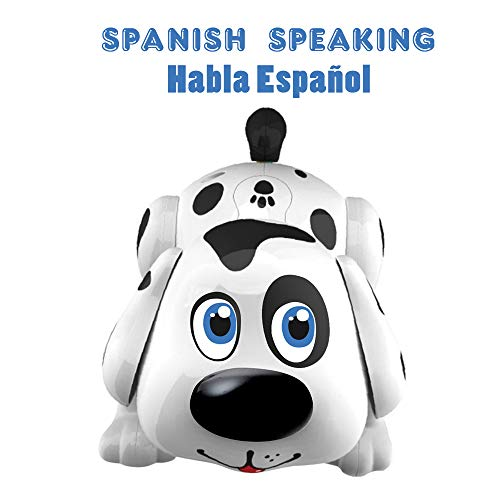 (Spanish Speaking Dog Harry | Electronic Pet Interactive Puppy | Responds to Touch, Walking, Chasing and Fun Activities)