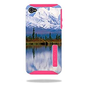 MightySkins Protective Vinyl Skin Decal Cover for Incipio Silicrylic iPhone 4/4S Case Sticker Skins Mountains